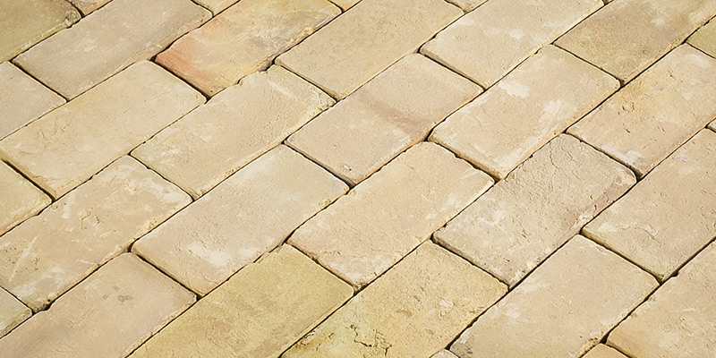 Britannia Handmade Cut Buff Floor Brick