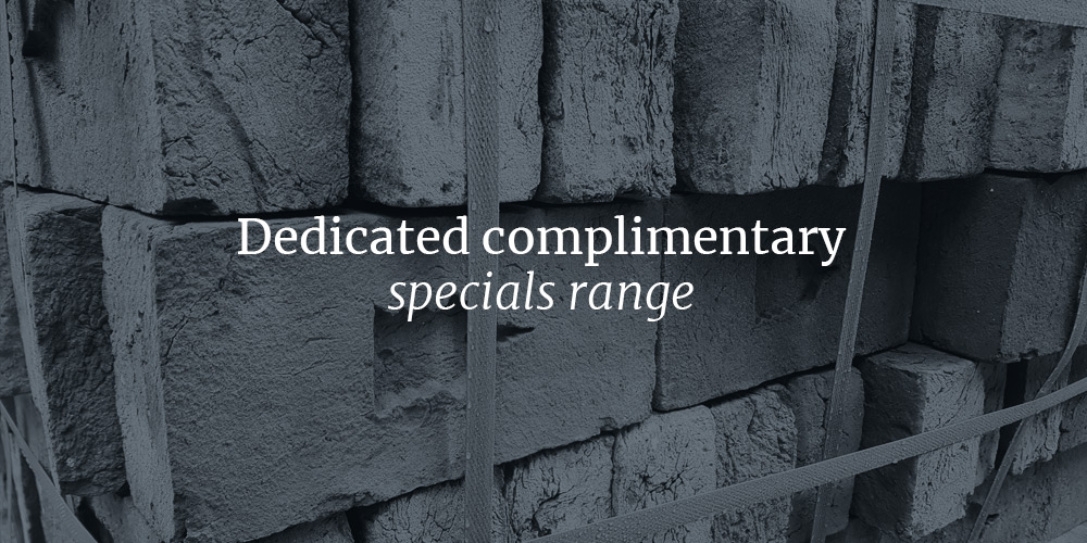 Handmade 'BRITANNIA' Chamfered Brick Bricks Wall Copings